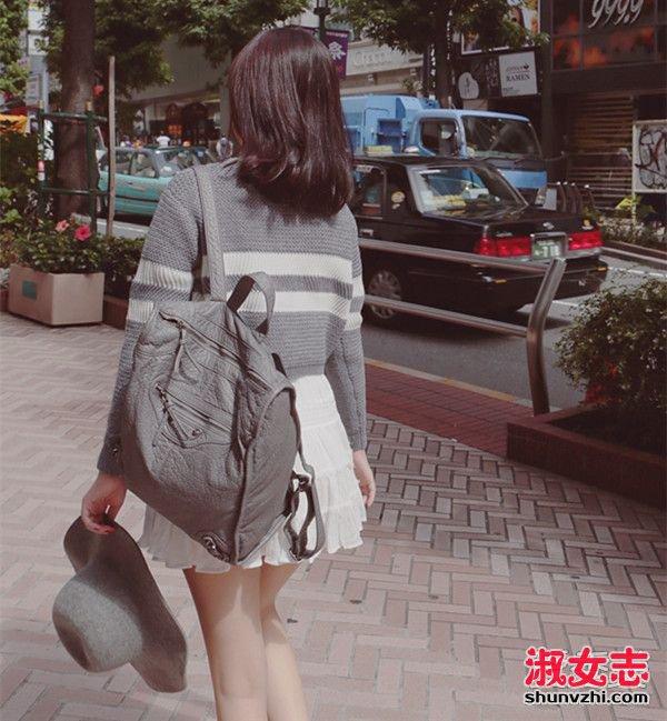 资讯生活冬季女生灰色女装单品搭配很温暖